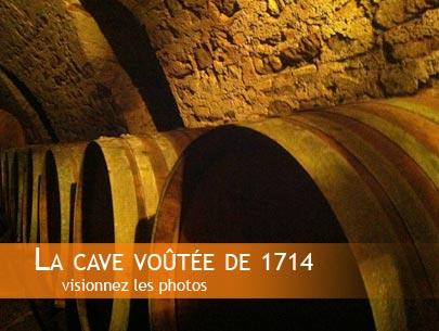 Cave voûtée de 1714